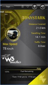 Driver Profile on NTORQ