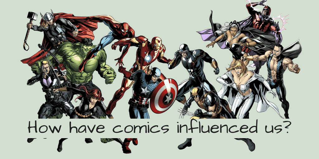 How have comics influenced us