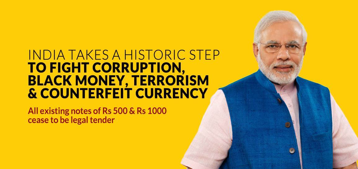 historic-announcements-on-ending-corruption-and-black-money-by-narendra-modi