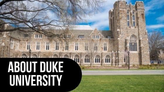 About Duke University