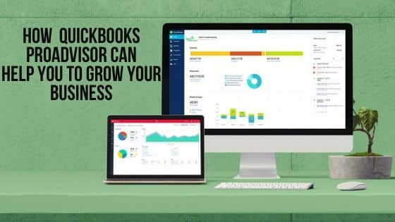 How QuickBooks ProAdvisor can help you to grow your Business