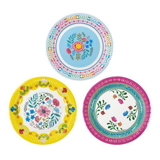 Plates - Using Your Tableware As Party Favors